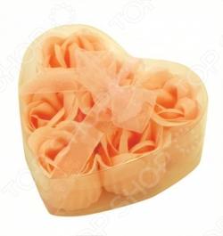 Цветы мыльные Банные штучки «Розы в Сердце» 6 штук. В ассортименте Банные штучки - артикул: 55636