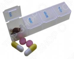 Таблетница на 1 день Pillbox - артикул: 71384